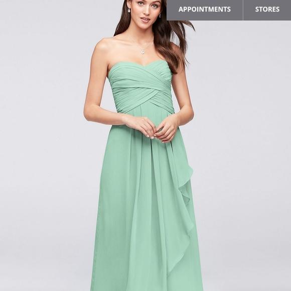 c50c15c21ae New mint green davids bridal bridesmaid dress 14